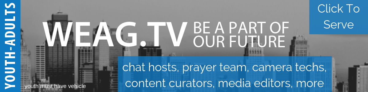 Join the WEAGtv Team