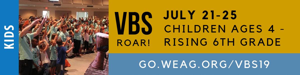 VBS 2019 - Register Now